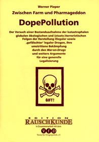 Buchcover grafik: Dope Pollution